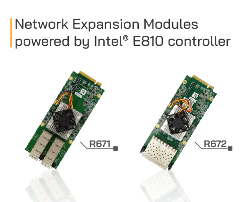 intel E810 network modules