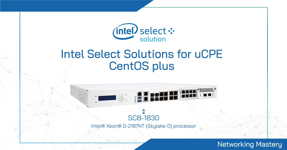 intel select solution ucpe