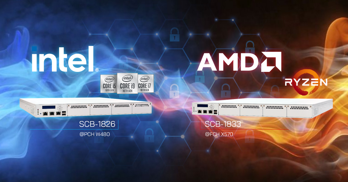 Intel AMD network appliance with Trusted Secure Boot - OT004A